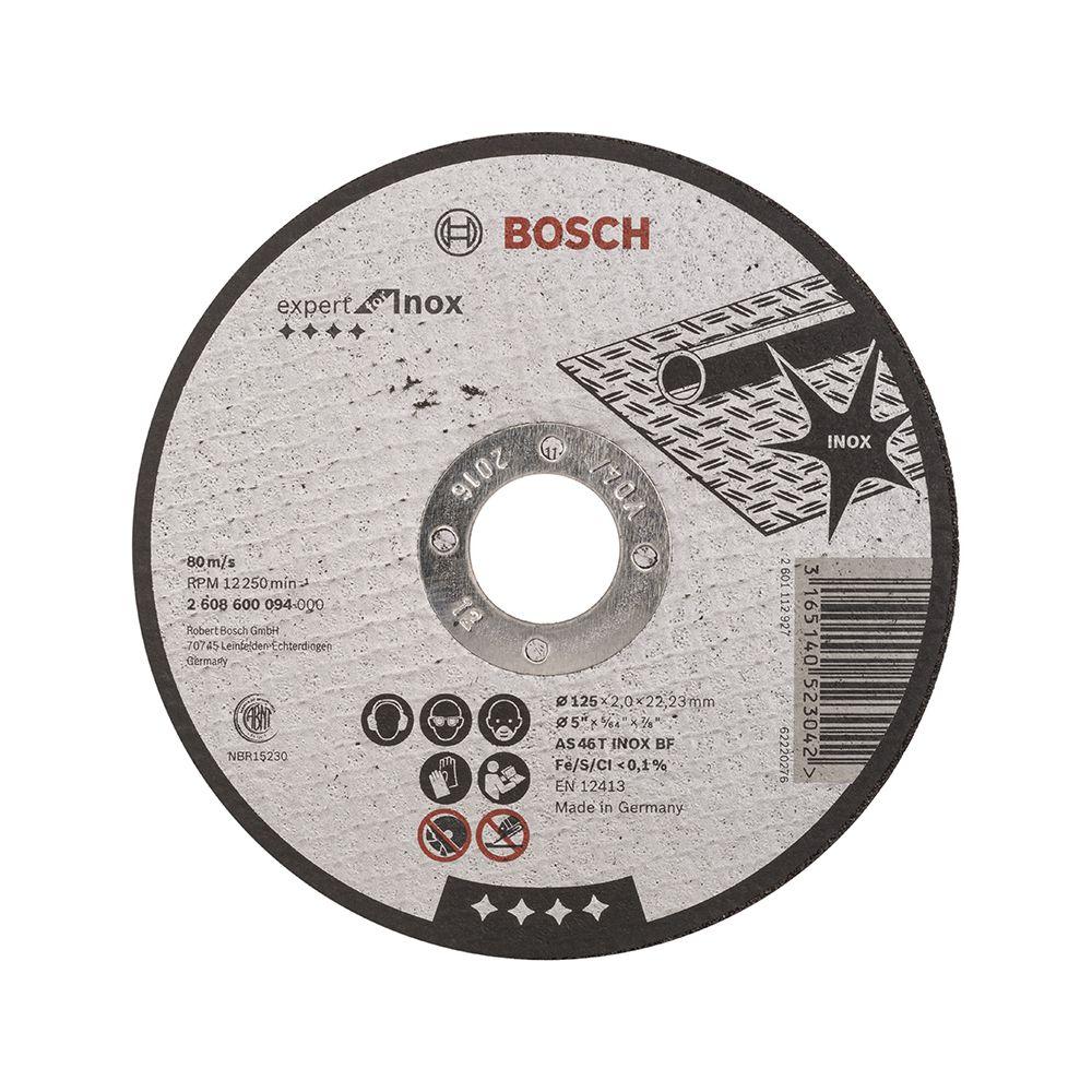Đá cắt Inox 125x2x22.2mm 2608600094 Bosch 2608600094 Bosch | Giá rẻ nhất - Công Ty TNHH Thương Mại Dịch Vụ Đạt Tâm