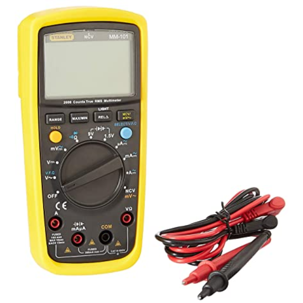 Đồng hồ đo điện digital Stanley MM-101-23C MM-101-23C Stanley   Giá rẻ nhất - Công Ty TNHH Thương Mại Dịch Vụ Đạt Tâm