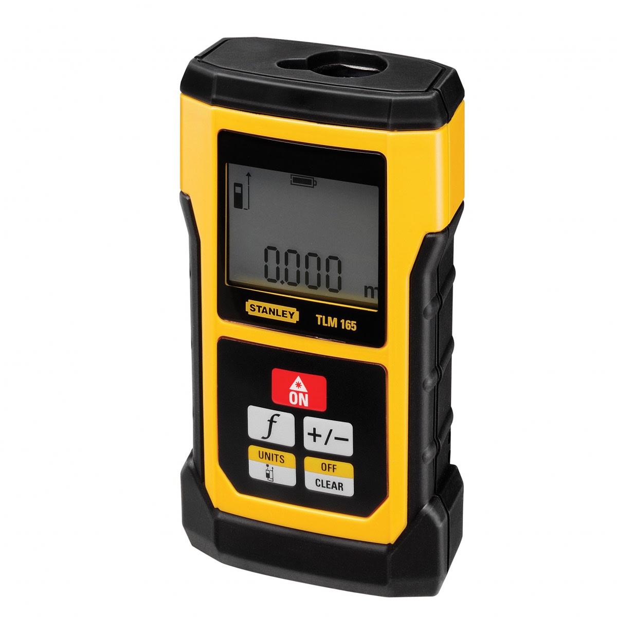 Máy đo khoảng cách tia laser 50m TLM165S Stanley STHT1-77139 STHT1-77139 Stanley | Giá rẻ nhất - Công Ty TNHH Thương Mại Dịch Vụ Đạt Tâm