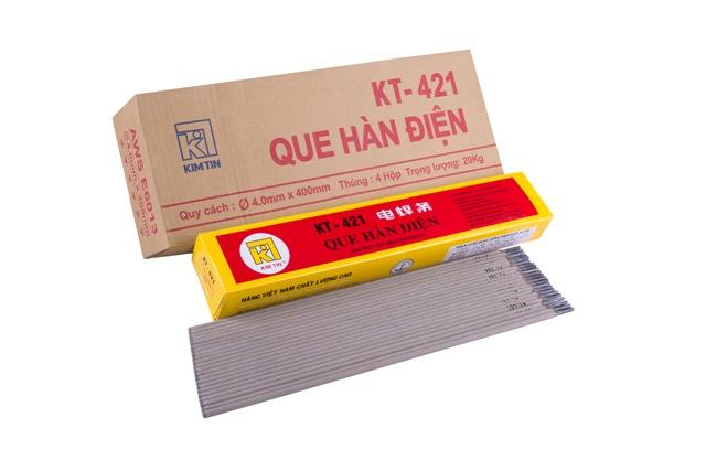 Que hàn phi 2.5x300mm Kim Tín KT-421