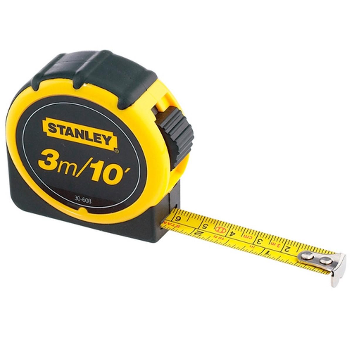 Thước cuộn 3m Stanley 30-608L 30-608L Stanley | Giá rẻ nhất - Công Ty TNHH Thương Mại Dịch Vụ Đạt Tâm