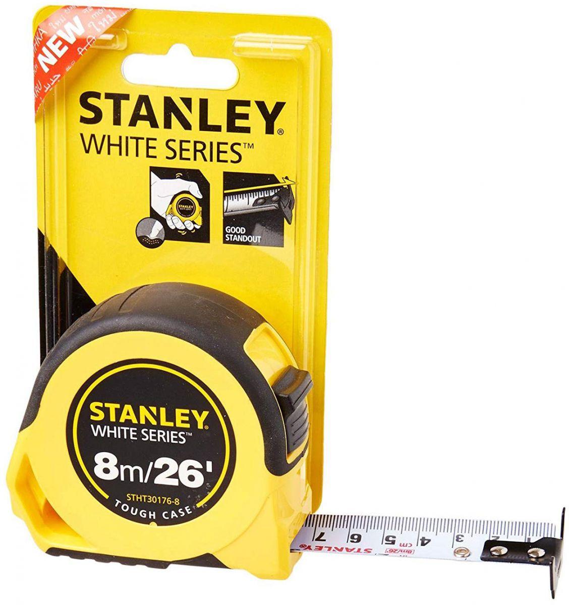 Thước cuộn 8m/26'-25mm Stanley STHT30176-8 STHT30176-8 Stanley | Giá rẻ nhất - Công Ty TNHH Thương Mại Dịch Vụ Đạt Tâm