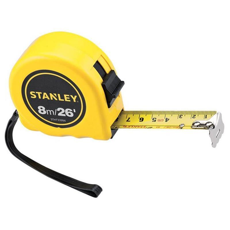 Thước cuộn 8mx25mm Stanley STHT33994-8 STHT33994-8 Stanley   Giá rẻ nhất - Công Ty TNHH Thương Mại Dịch Vụ Đạt Tâm