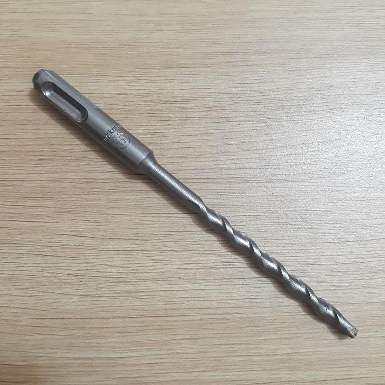 Mũi khoan bê tông đuôi gài 1,5 tấc phi 6 Makita  Makita | Giá rẻ nhất - Công Ty TNHH Thương Mại Dịch Vụ Đạt Tâm