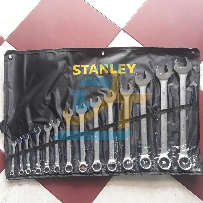 Bộ cờ lê vòng miệng 14 chi tiết 8-32 Stanley STMT80944