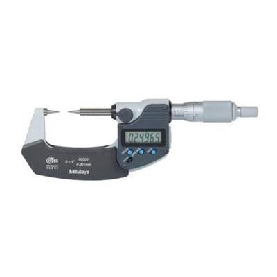 Panme đo ngoài điện tử đầu nhọn 0-25mm Mitutoyo 342-251-30 342-251-30 Mitutoyo | Giá rẻ nhất - Công Ty TNHH Thương Mại Dịch Vụ Đạt Tâm