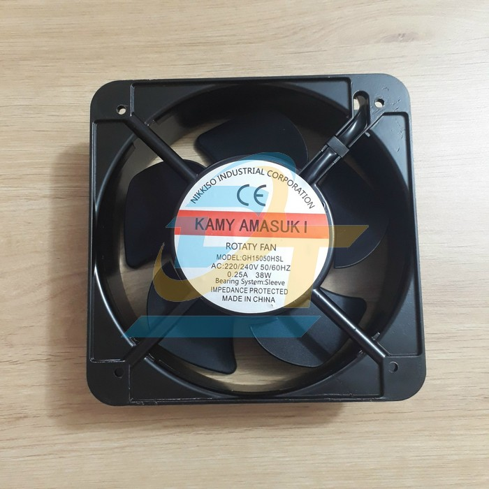 Quạt giải nhiệt 150x150mm 220V Kamyamasuki GH15050HSL