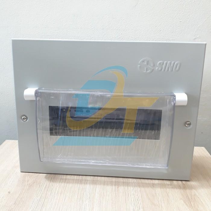 Tủ điện kim loại chứa 9 module lắp chìm Sino EM9PL