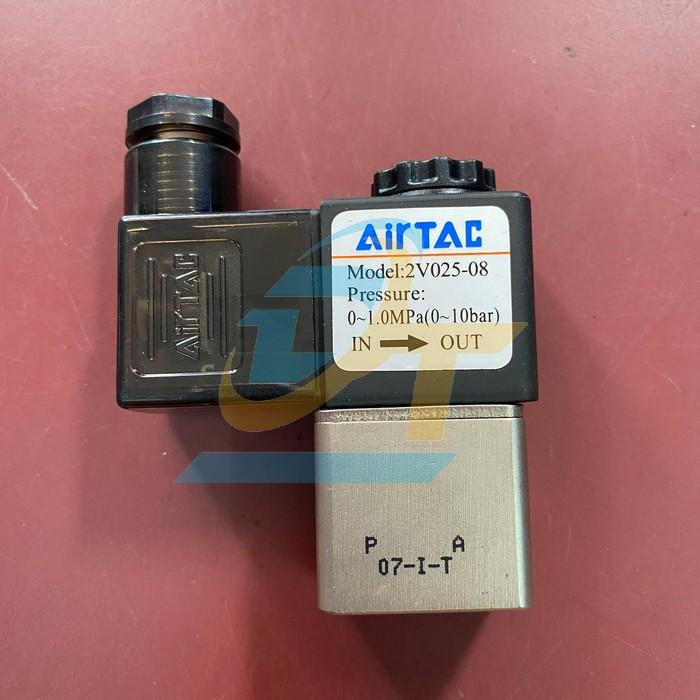Van điện từ khí nén 2/2 ren 13mm AC220V Airtac 2V 025-08 2V 025-08 Airtac   Giá rẻ nhất - Công Ty TNHH Thương Mại Dịch Vụ Đạt Tâm