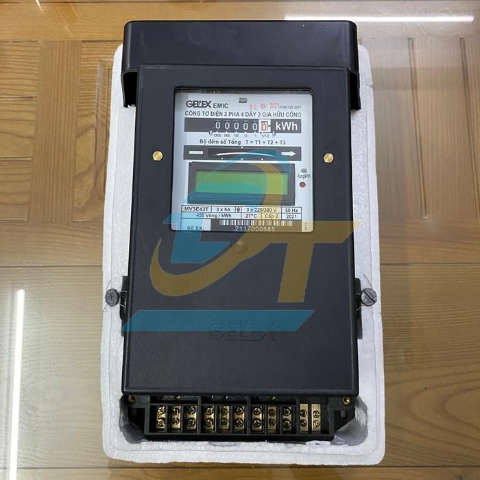Công tơ điện 3 pha 4 dây 3 giá Emic MV3E43T