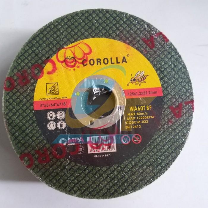 Đá cắt Corola 125x1.2x22.2mm