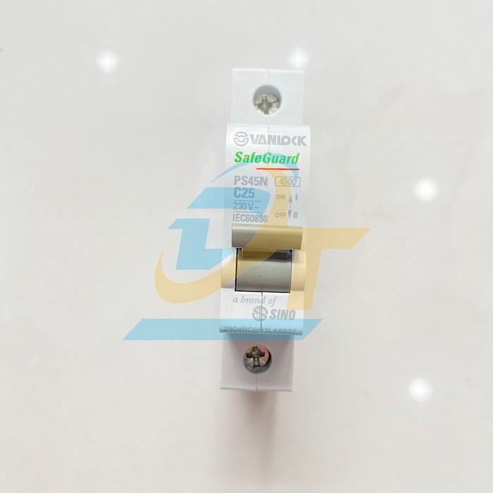 Cầu dao tự động 1 pha 25A Sino PS45N C25