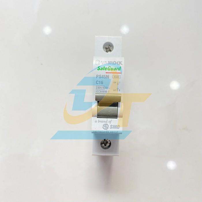 Cầu dao tự động 1 pha 16A Sino PS45N C16