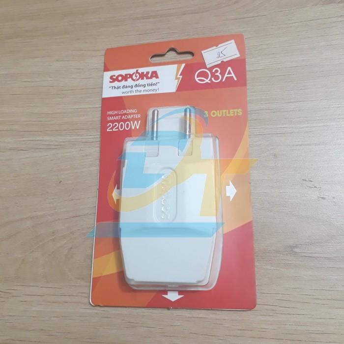 Đầu nối thông minh chịu tải cao 1 ra 3 SOPOKA Q3A