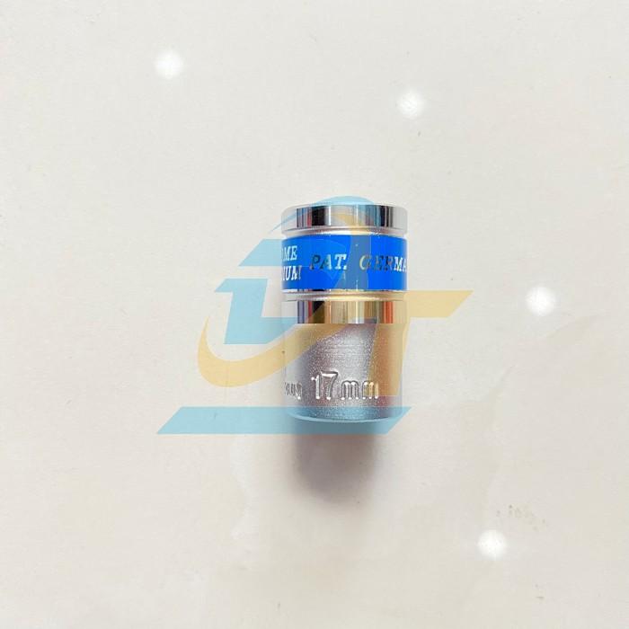 Đầu tuýp trắng 6 cạnh 1/2 inch x 17mm TOP TS-C17