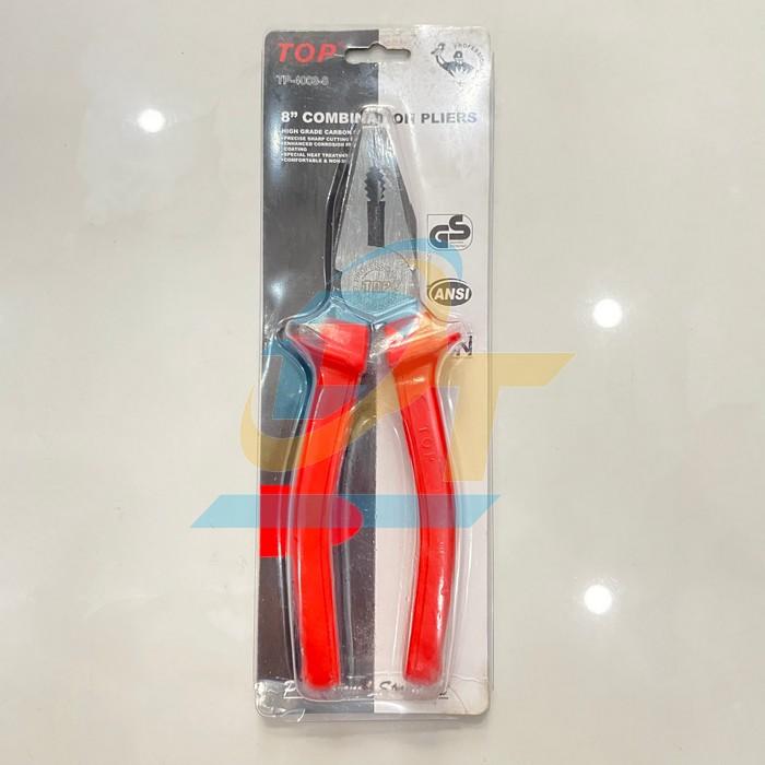 Kìm điện cán đỏ 8'' (200mm) TOP TP-4003-8 TP-4003-8 Top | Giá rẻ nhất - Công Ty TNHH Thương Mại Dịch Vụ Đạt Tâm