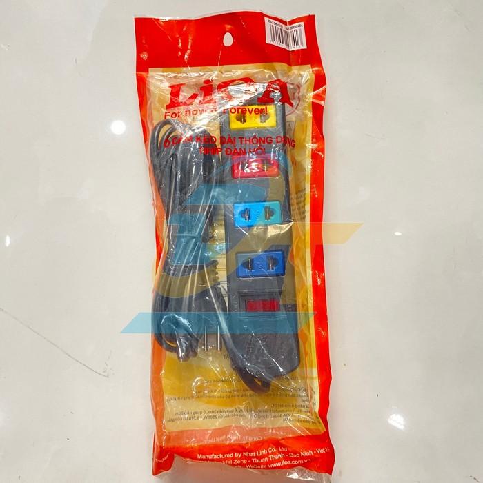 Ổ cắm điện 4 lỗ dây 3m LIOA TS4