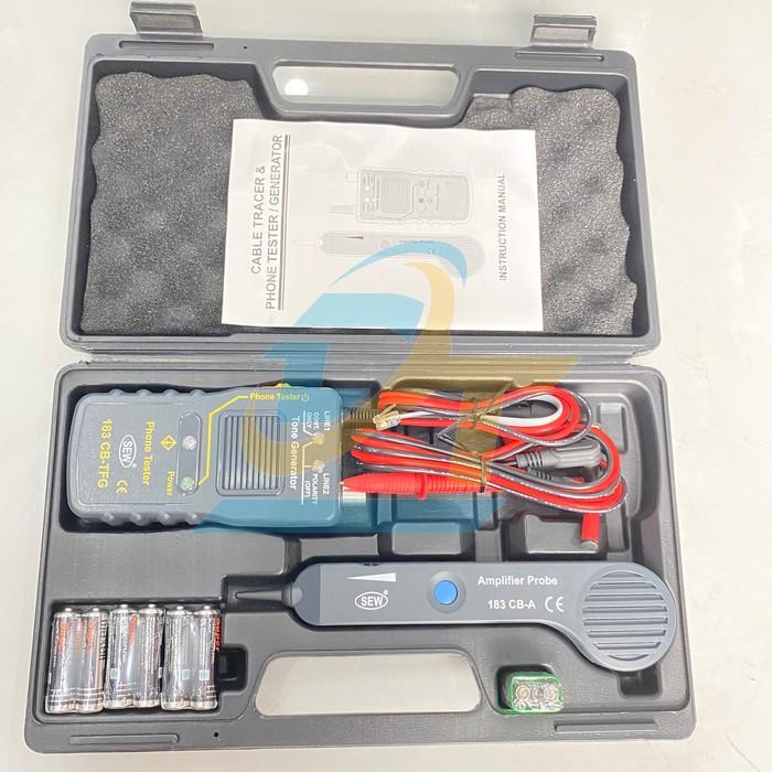Bộ dò tín hiệu cáp và kiểm tra điện thoại SEW 183 CB