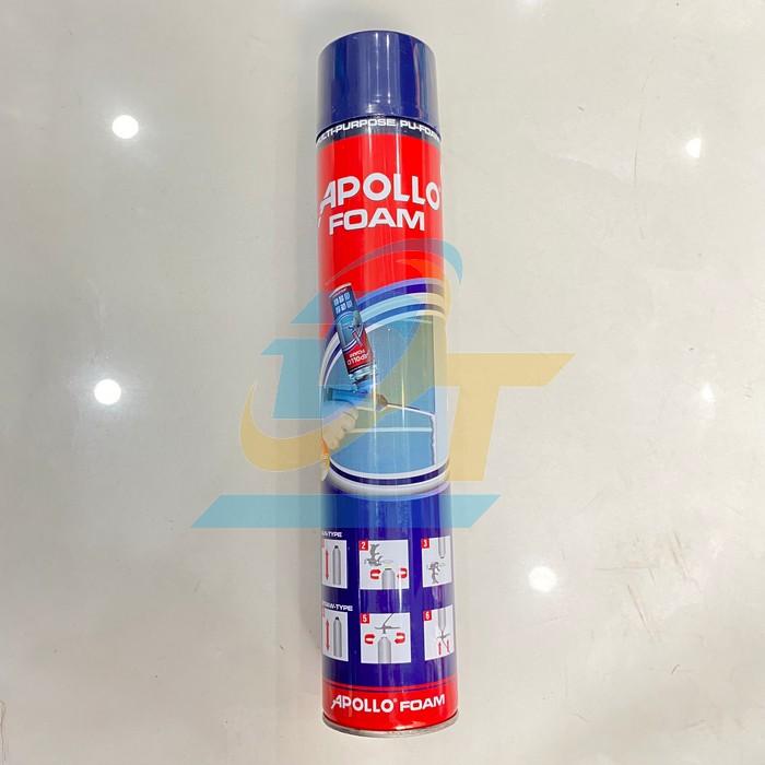 Keo bọt nở Apollo foam 750ml dùng vòi  Apollo | Giá rẻ nhất - Công Ty TNHH Thương Mại Dịch Vụ Đạt Tâm