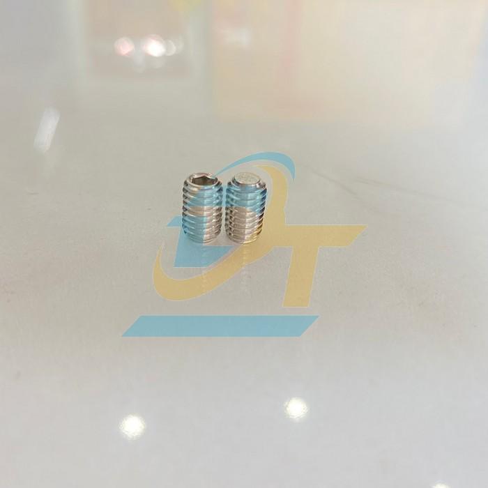 Lục giác âm inox 304 M5x10mm (Lục giác chìm không đầu)