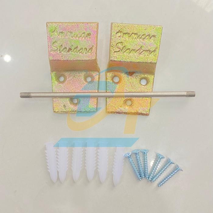 Giá, móc treo chậu rửa mặt (Lavabo)- Móc 2 miếng (đôi)