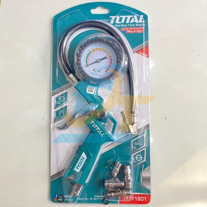Súng bơm lốp xe ô tô Total TAT11601 TAT11601 Total | Giá rẻ nhất - Công Ty TNHH Thương Mại Dịch Vụ Đạt Tâm