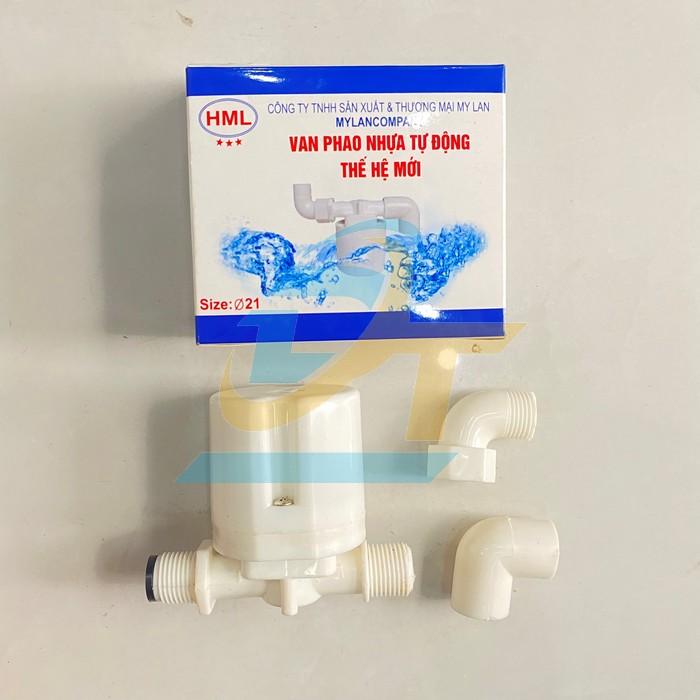 Van phao nhựa tự động phi 21