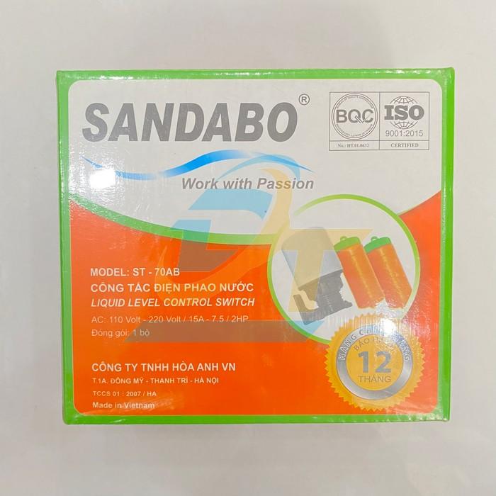 Công tắc điện phao nước Sandabo ST-70AB