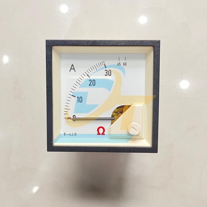 Đồng hồ Ampe 72x72mm 40VAC Omega DE72-30A