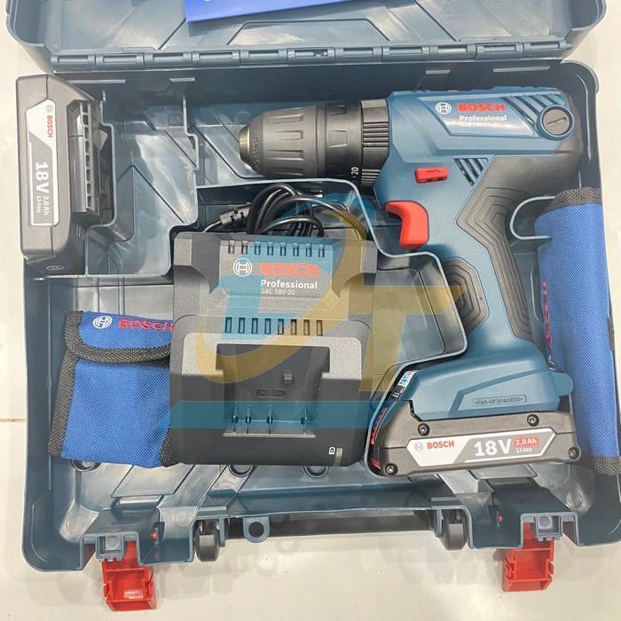 Máy khoan búa vặn vít dùng PIN Bosch GSB 180-LI