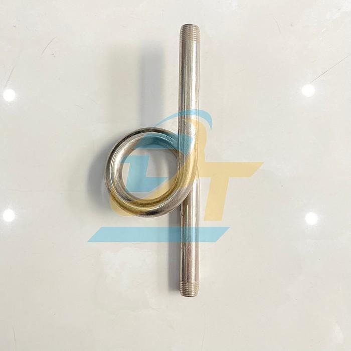Ống xi phông inox ren ngoài phi 17mm