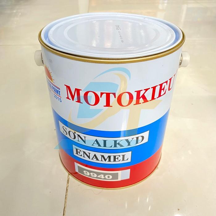 Sơn xám 9940 3kg/thùng Motorkieu
