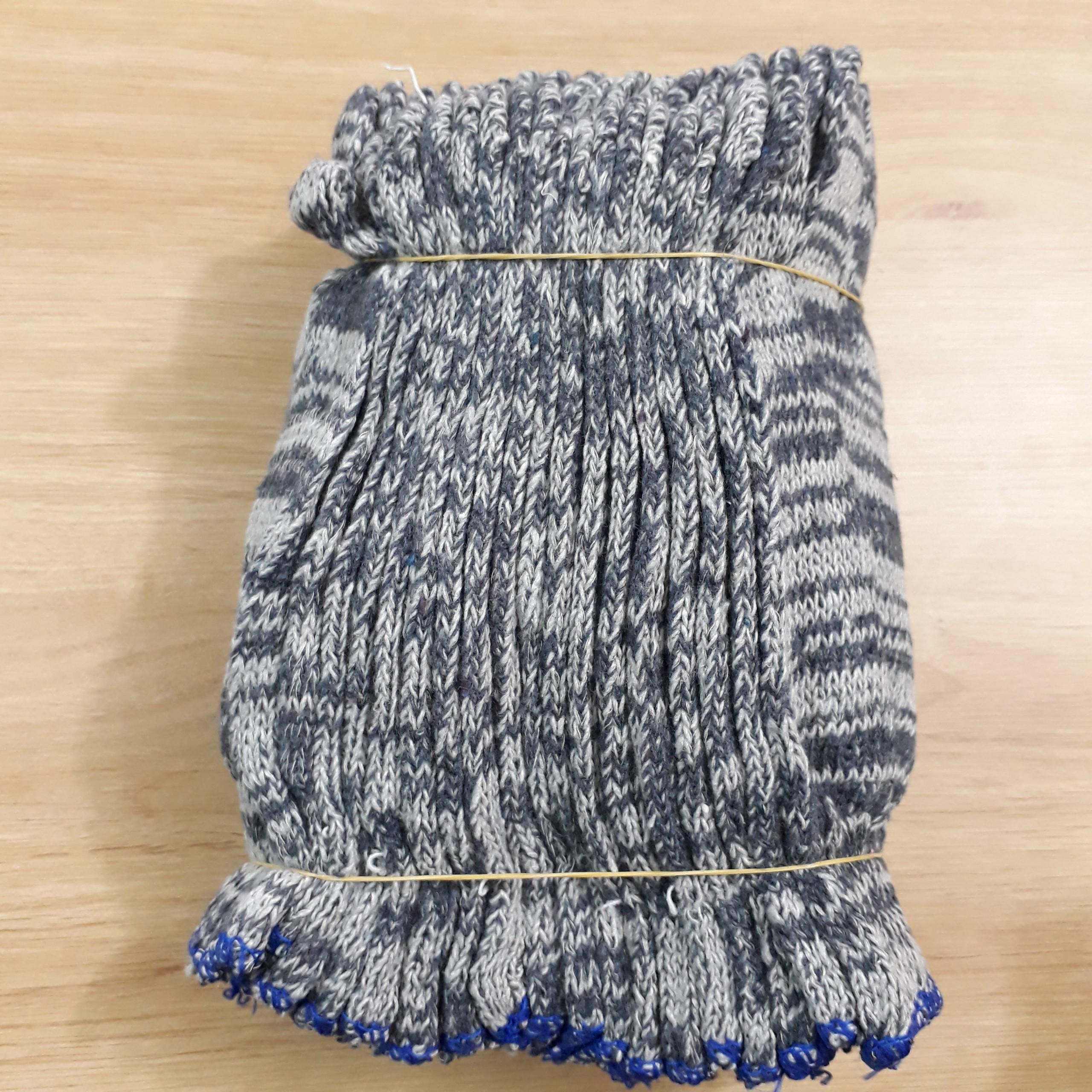 Găng tay bảo hộ bằng len màu muối tiêu 50g  VietNam | Giá rẻ nhất - Công Ty TNHH Thương Mại Dịch Vụ Đạt Tâm