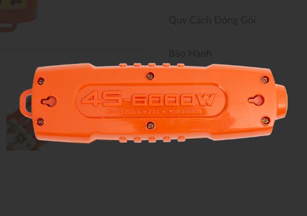 Ổ cắm 4S-6000W Sopoka 4S-6000W Sopoka   Giá rẻ nhất - Công Ty TNHH Thương Mại Dịch Vụ Đạt Tâm