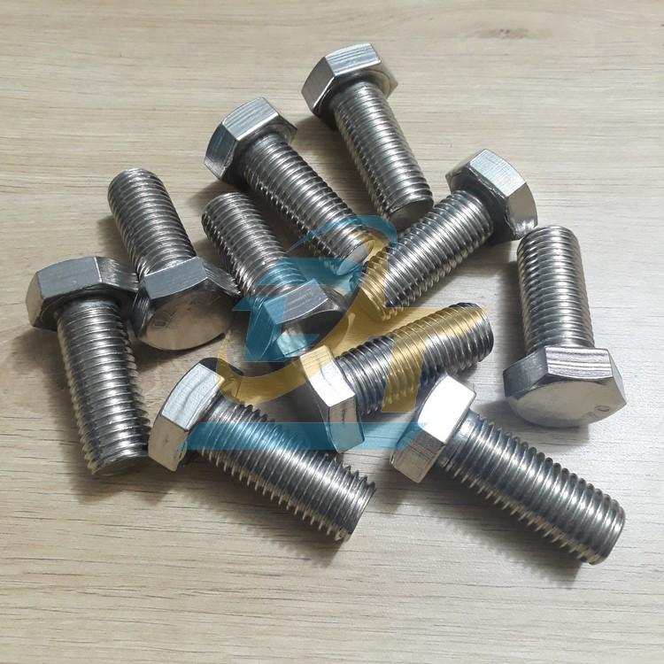 Bulon inox 201 M20x50  VietNam   Giá rẻ nhất - Công Ty TNHH Thương Mại Dịch Vụ Đạt Tâm
