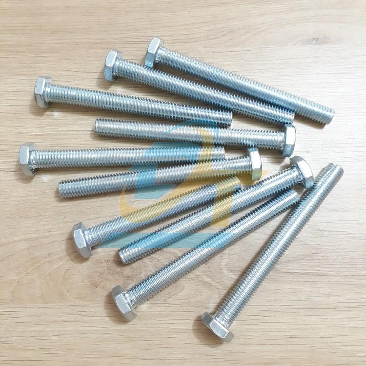Bulon xi M12x100  VietNam   Giá rẻ nhất - Công Ty TNHH Thương Mại Dịch Vụ Đạt Tâm