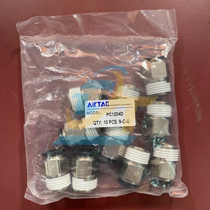 Đầu nối khí nén ren ngoài 21mm ra ống hơi 12mm Airtac PC 12-04 AT PC 12-04 AT Airtac | Giá rẻ nhất - Công Ty TNHH Thương Mại Dịch Vụ Đạt Tâm