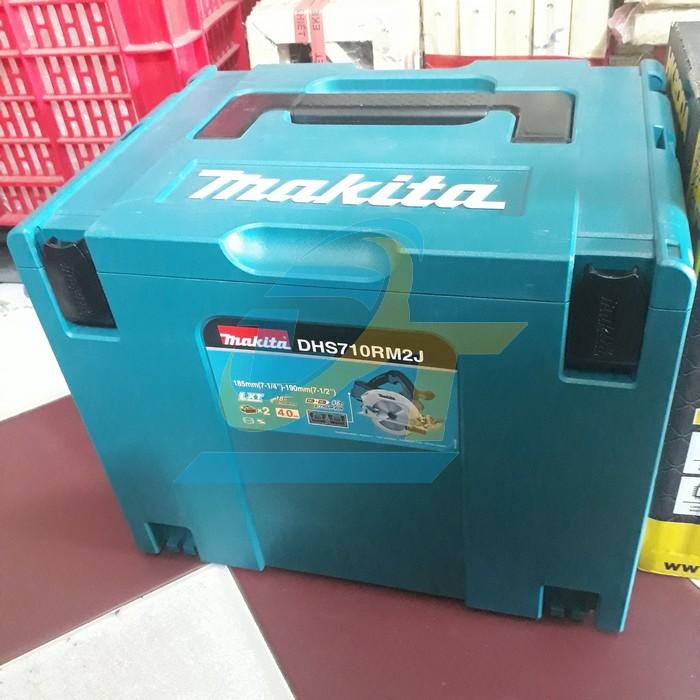 Máy cưa đĩa dùng pin 190mm Makita DHS710RM2J DHS710RM2J Makita | Giá rẻ nhất - Công Ty TNHH Thương Mại Dịch Vụ Đạt Tâm