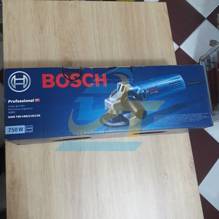 Máy mài góc 1T Bosch GWS 750-100 GWS 750-100 Bosch   Giá rẻ nhất - Công Ty TNHH Thương Mại Dịch Vụ Đạt Tâm