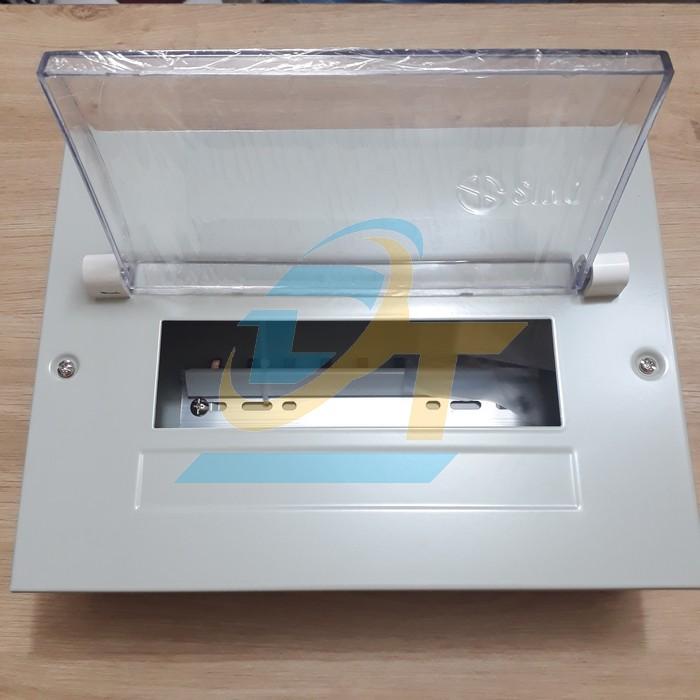 Tủ điện kim loại chứa 9 module lắp chìm Sino EM9PL EM9PL Sino   Giá rẻ nhất - Công Ty TNHH Thương Mại Dịch Vụ Đạt Tâm
