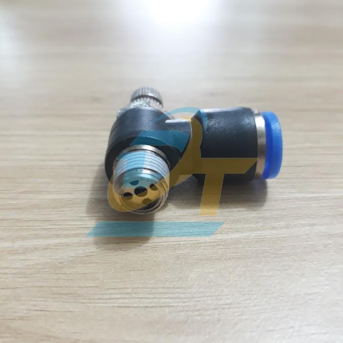 Van tiết lưu khí nén phi 8mm Suncos ESL8-01 ESL8-01 Suncos | Giá rẻ nhất - Công Ty TNHH Thương Mại Dịch Vụ Đạt Tâm