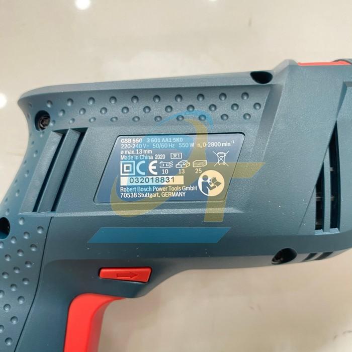 Máy khoan động lực Bosch GSB 550 GSB 550 Bosch   Giá rẻ nhất - Công Ty TNHH Thương Mại Dịch Vụ Đạt Tâm