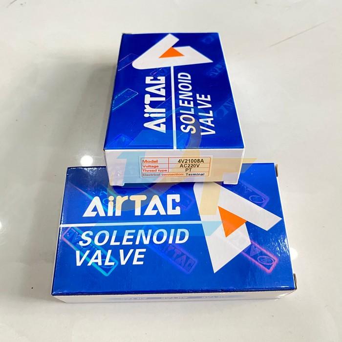 Van điện từ 220VAC Airtac 4V21008A 4V21008A Airtac   Giá rẻ nhất - Công Ty TNHH Thương Mại Dịch Vụ Đạt Tâm