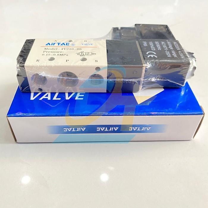Van điện từ 24VDC Airtac 4V21008B 4V21008B Airtac | Giá rẻ nhất - Công Ty TNHH Thương Mại Dịch Vụ Đạt Tâm
