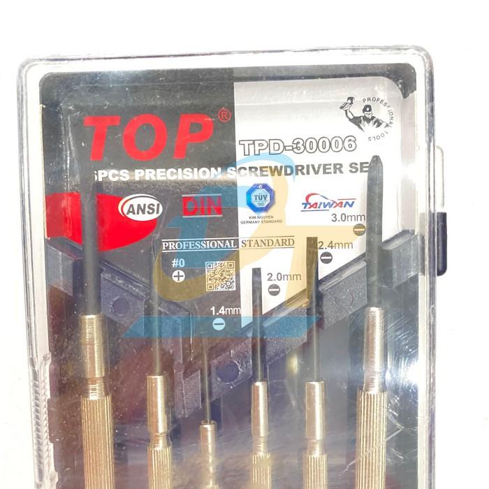 Bộ tua vít sửa đồng hồ, laptop 6 cây TOP TPD-30006 TPD-30006 Top | Giá rẻ nhất - Công Ty TNHH Thương Mại Dịch Vụ Đạt Tâm