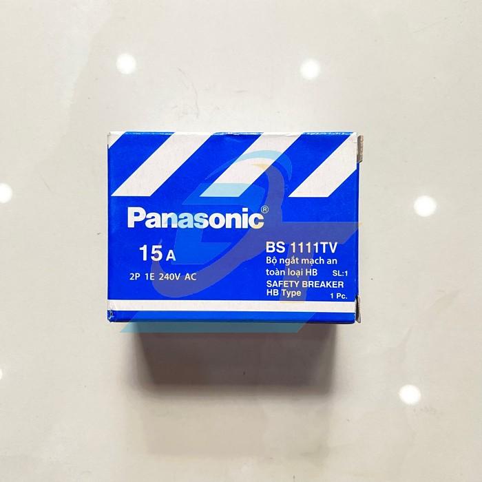 Cầu dao tự động (CB cóc) 15A Panasonic BS 1111TV BS 1111TV Panasonic | Giá rẻ nhất - Công Ty TNHH Thương Mại Dịch Vụ Đạt Tâm