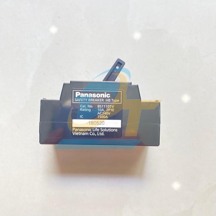 Cầu dao tự động (CB cóc) 10A Panasonic BS 1110TV BS 1110TV Panasonic | Giá rẻ nhất - Công Ty TNHH Thương Mại Dịch Vụ Đạt Tâm