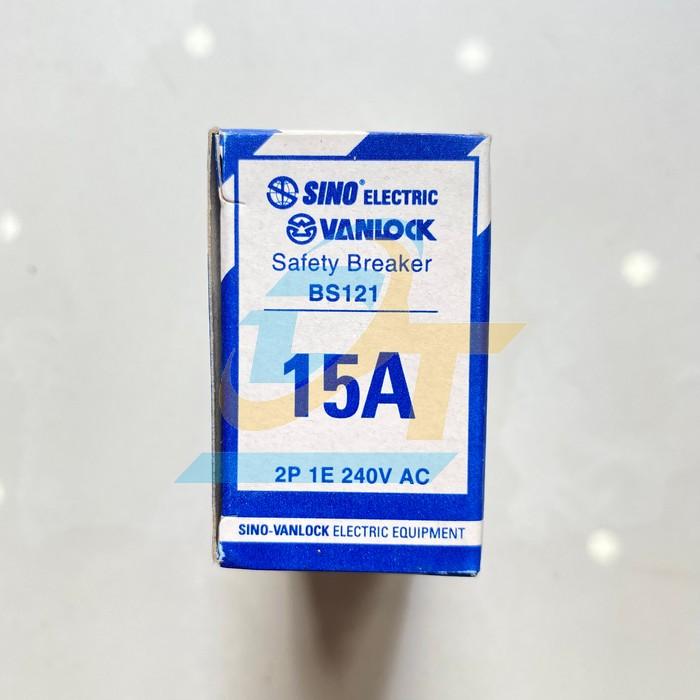 Cầu dao tự động (CB cóc) 15A Sino BS121 15A BS121 15A Sino | Giá rẻ nhất - Công Ty TNHH Thương Mại Dịch Vụ Đạt Tâm