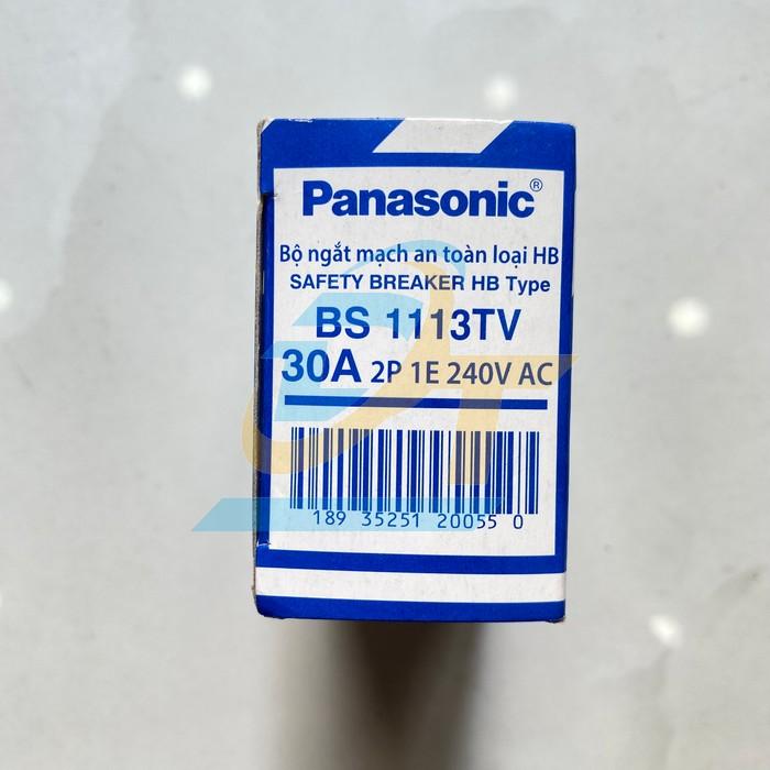 Cầu dao tự động (CB cóc) 30A Panasonic BS 1113TV BS 1113TV Panasonic   Giá rẻ nhất - Công Ty TNHH Thương Mại Dịch Vụ Đạt Tâm