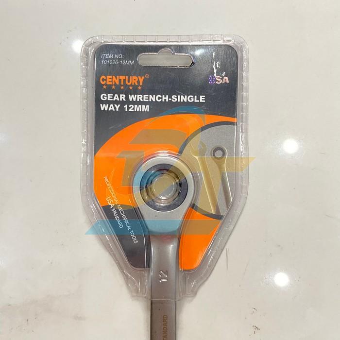 Cờ lê vòng miệng tự động không đảo chiều 12mm CENTURY 101226-12MM 101226-12MM Century   Giá rẻ nhất - Công Ty TNHH Thương Mại Dịch Vụ Đạt Tâm